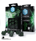 Ingress Polyhedral Dice Set: Enlightened (7)