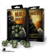 Nuke Revised Black-Glow in the Dark Polyhedral Dice Set (7)