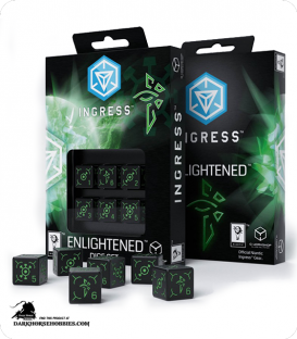 Ingress d6 Dice Set: Enlightened
