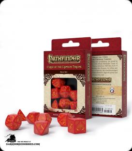 Pathfinder: Curse of the Crimson Throne Polyhedral Dice Set