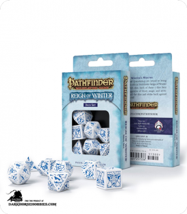 Pathfinder: Reign of Winter Polyhedral Dice Set