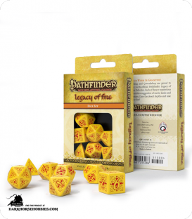 Pathfinder: Legacy of Fire Polyhedral Dice Set