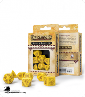 Pathfinder: Skull & Shackles Polyhedral Dice Set
