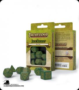 Pathfinder: Jade Regent Polyhedral Dice Set