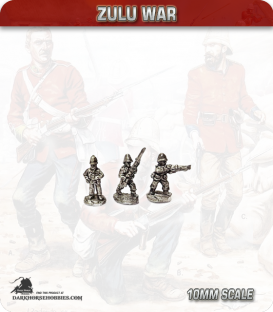 10mm Zulu War: British Infantry, pith helmet