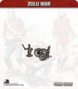 10mm Zulu War: British R.A. Gatling gun