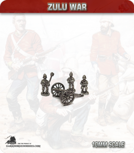 10mm Zulu War: British R.A. Artillery 9lb RML