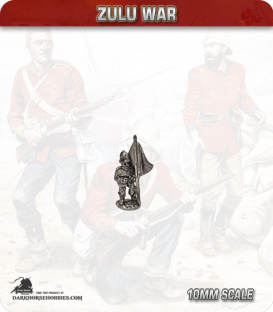 10mm Zulu War: British standard bearers