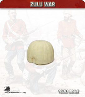10mm Zulu War: Zulu hut