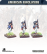 10mm American Revolution: Continentals in 1779 Regulation Uniform - Standing