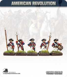10mm American Revolution: Continental Cmd in 1779 Regulation Uniform - Standing (painted by Andy Mac)
