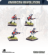 10mm American Revolution: British Line Infantry 1768 - Charging