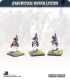 10mm American Revolution: British Line Infantry in Short Coats and Round Hats - Marching