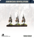 10mm American Revolution: British Light Infantry in Chain Helmets - Marching