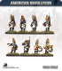 10mm American Revolution: Brunswick Grenadiers with Command - Marching