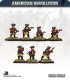 10mm American Revolution: German Jagers with Command