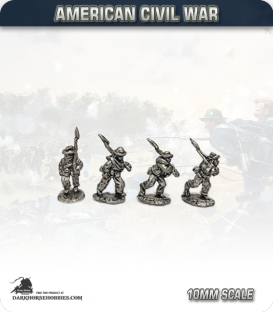 10mm American Civil War: Confederate Foot - Marching (type 2)