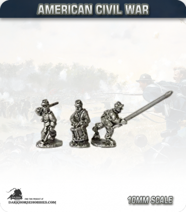 10mm American Civil War: Union Foot Command - Advancing