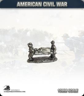 10mm American Civil War: Stretcher Bearers