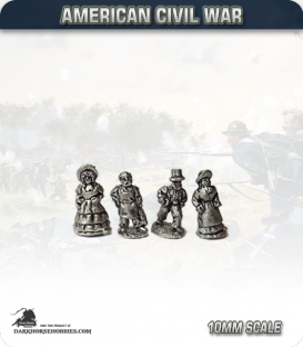 10mm American Civil War: Civilians