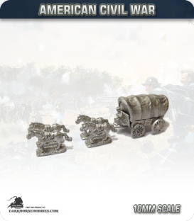 10mm American Civil War: Wagons