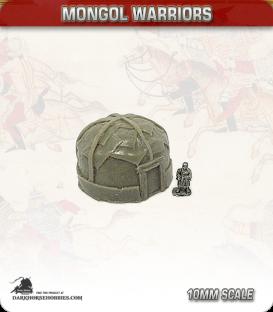 10mm Mongols: Medium Yurts