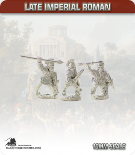 10mm Late Imperial: (Roman) Armoured Infantry with Mixed Weapons - Attacking