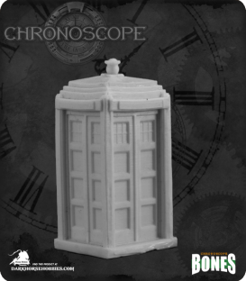 Chronoscope Bones: British Telephone Box