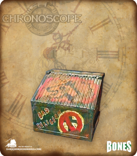 Chronoscope Bones: Dumpster (painted by Starwolf)