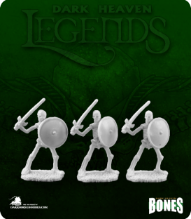 Dark Heaven Legends Bones: Skeletal Swordsmen