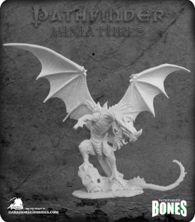 Pathfinder Bones Miniatures: Red Dragon