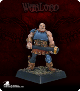 Warlord: Mercenaries - Street Thug Grunt (painted by Anne Foerster)