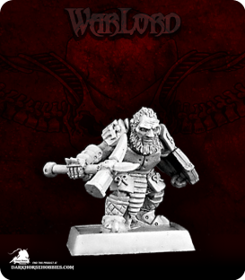 Warlord: Mercenaries - Dark Dwarf Warrior Adept