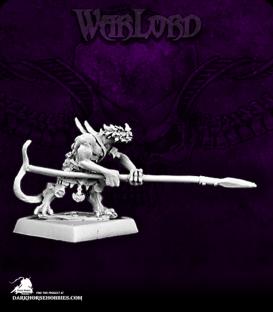 Warlord: Reptus - Clutchling Spearmen Grunt