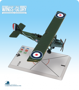 Wings of Glory: WW1 RAF R.E.8 (Marsh/MacKay Dempster) Airplane Pack