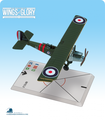 Wings of Glory: WW1 RAF R.E.8 (59 Squadron) Airplane Pack