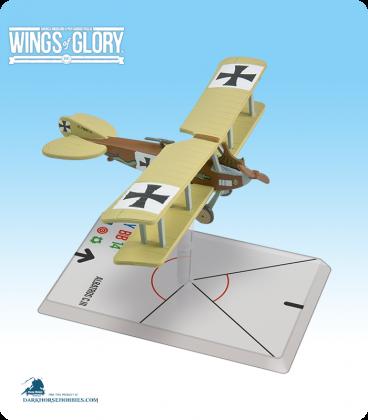 Wings of Glory: WW1 Albatros C.III (Bohme/Ladermacher) Airplane Pack