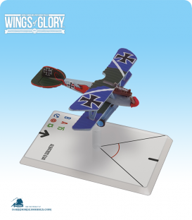 Wings of Glory: WW1 Albatros D.Va (von Hippel) Airplane Pack