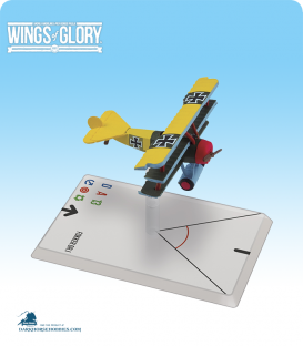 Wings of Glory: WW1 Fokker Dr.I (Lothar von Richthofen) Airplane Pack