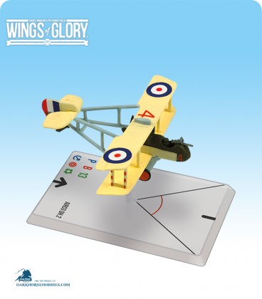 Wings of Glory: WW1 Airco DH.2 (Saundby) Airplane Pack