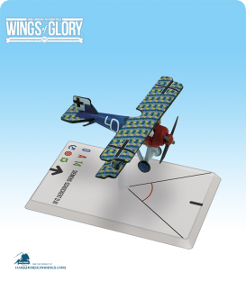 Wings of Glory: WW1 Siemens - Schuckert D.III (Von Beaulieu - Marconnay) Airplane Pack
