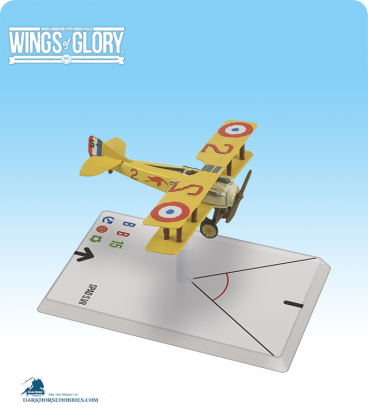 Wings of Glory: WW1 Spad S.VII (Guynemer) Airplane Pack