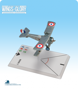 Wings of Glory: WW1 Nieuport 17 (Thaw/Lufbery) Airplane Pack
