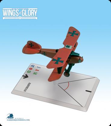 Wings of Glory: WW1 Albatros D.III (Von Richthofen) Airplane Pack