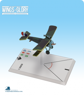 Wings of Glory: WW1 Nieuport 11 (Chaput) Airplane Pack