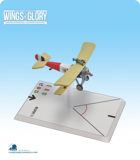 Wings of Glory: WW1 Nieuport 11 (De Turenne) Airplane Pack