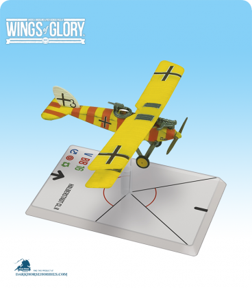 Wings of Glory: WW1 Halberstadt CL.II (Niemann/Kolodzicj) Airplane Pack