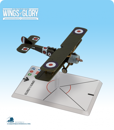 Wings of Glory: WW1 Sopwith 1½ Strutter (Collishaw/Portsmouth) Airplane Pack