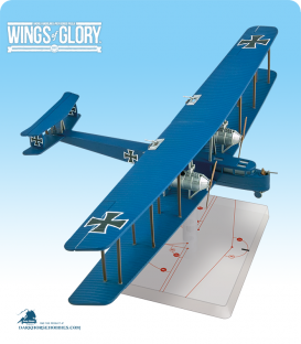 Wings of Glory: WW1 Zeppelin Staaken R.VI (Schoeller) Airplane Pack
