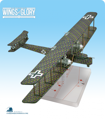 Wings of Glory: WW1 Zeppelin Staaken R.VI (Schilling) Airplane Pack